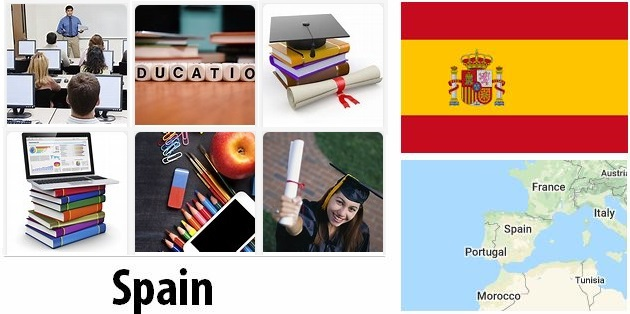 Training and Education of Spain