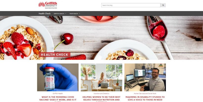 Health Check - Griffith University