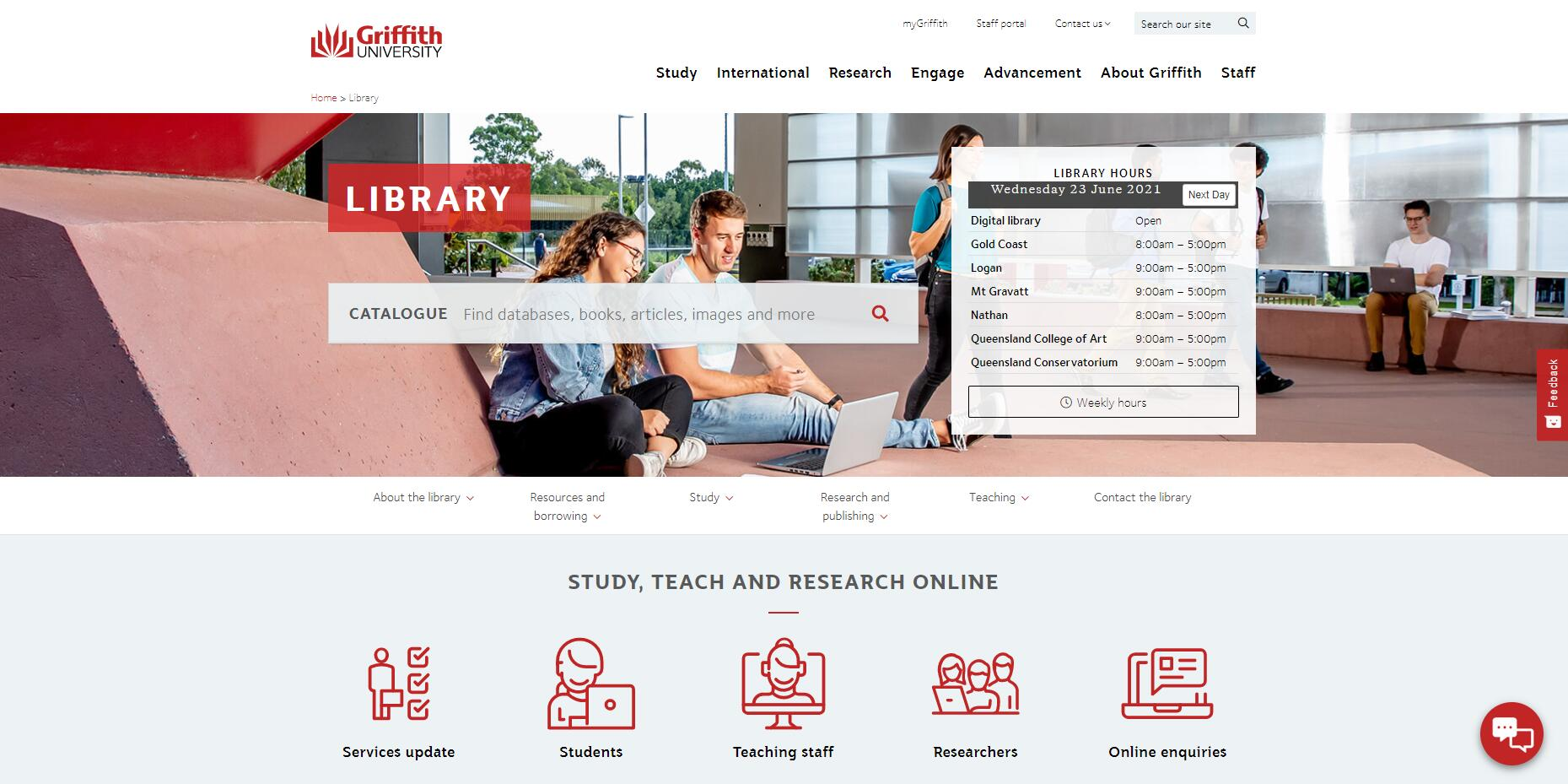 Library - Griffith University