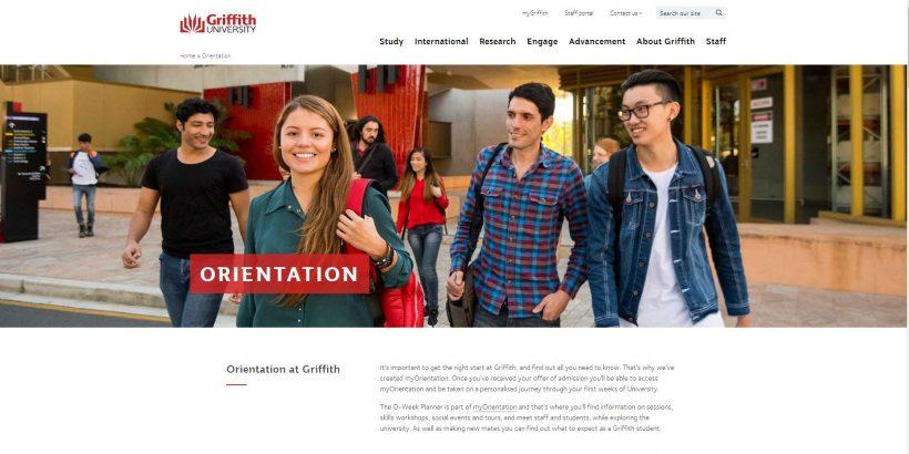 Orientation - Griffith University