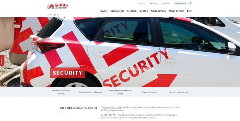 Security - Griffith University