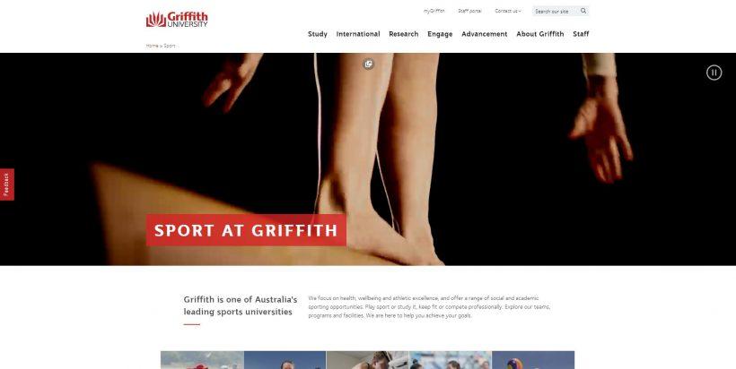 Sport - Griffith University