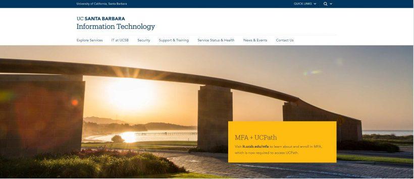 UC Santa Barbara Information Technology
