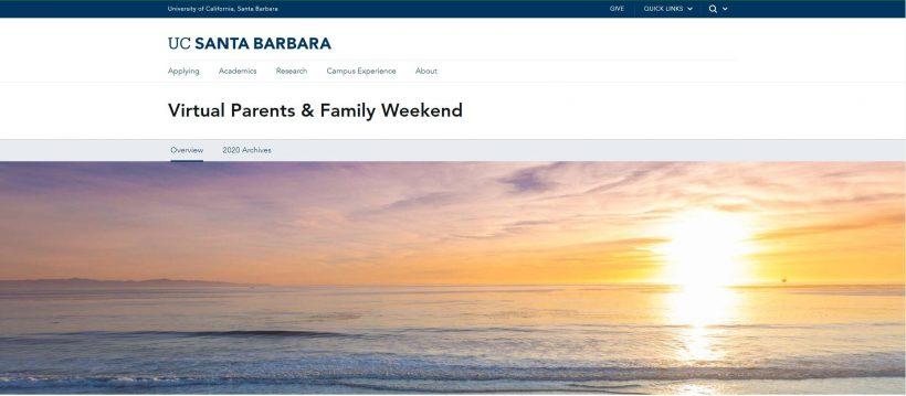 UC Santa Barbara campus