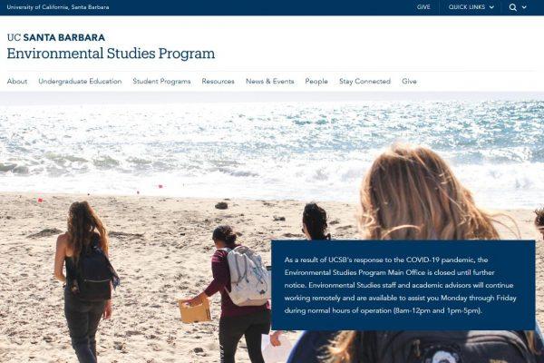 UCSB Environmental Studies Program