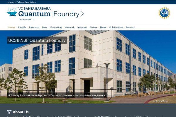 UCSB NSF Quantum Foundry
